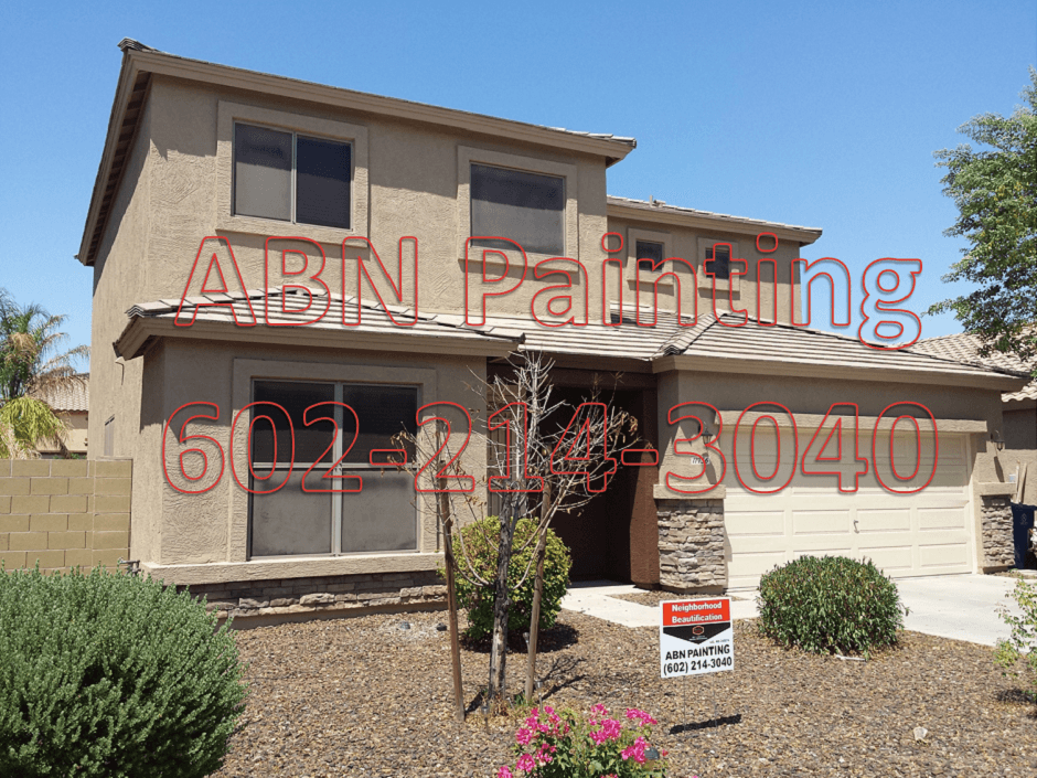 Exterior house painting in Avondale AZ