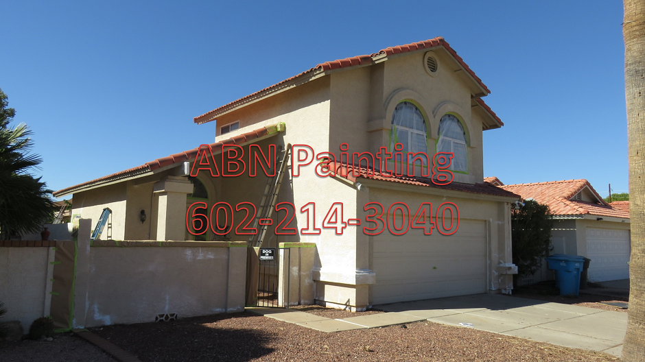 Painting Stucco House Exterior In Phoenix