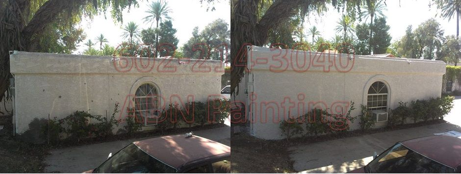 Exterior painting in Phoenix before and after 60