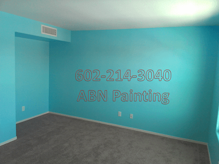 Interior painting Phoenix. After image.
