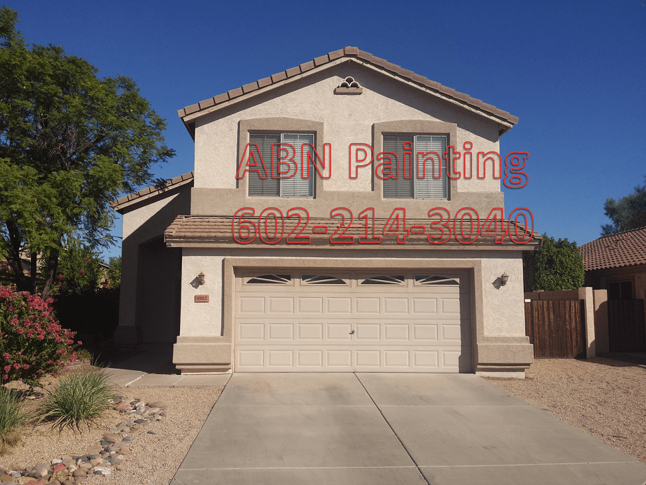 Exterior house painting in Peoria AZ