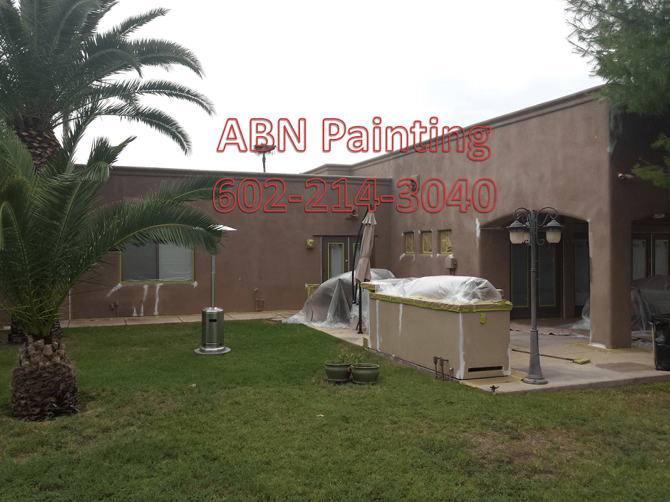 Exterior house painting in scottsdale AZ