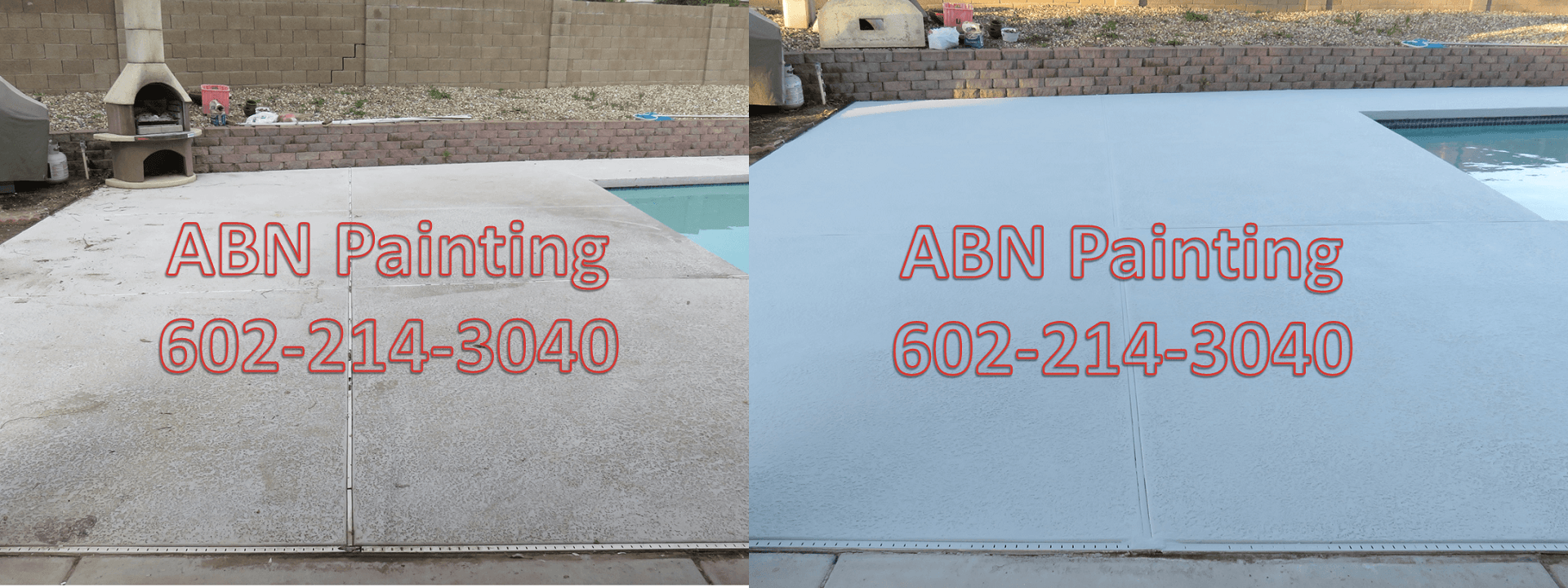 pool deck painting phoenix.