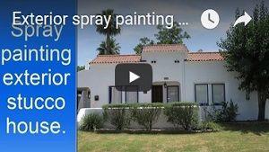 Exterior house painting in Phoenix AZ Videos.