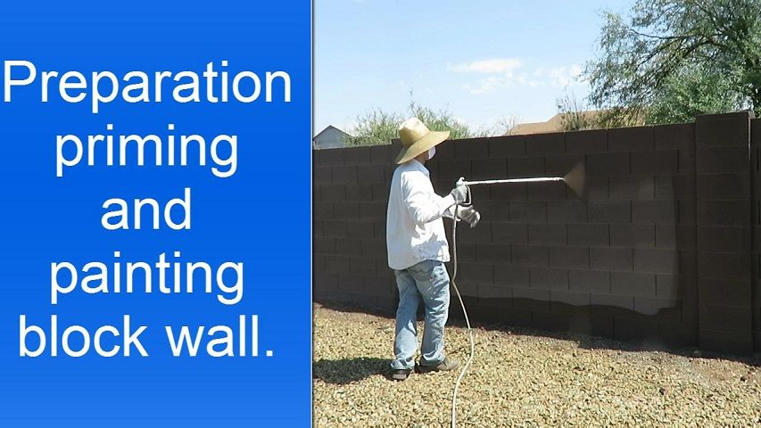 Painting Exterior Concrete Foundation Walls